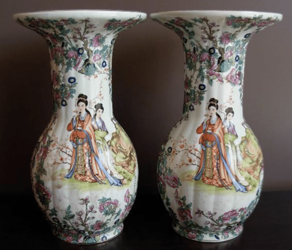 Jarrones de geisha