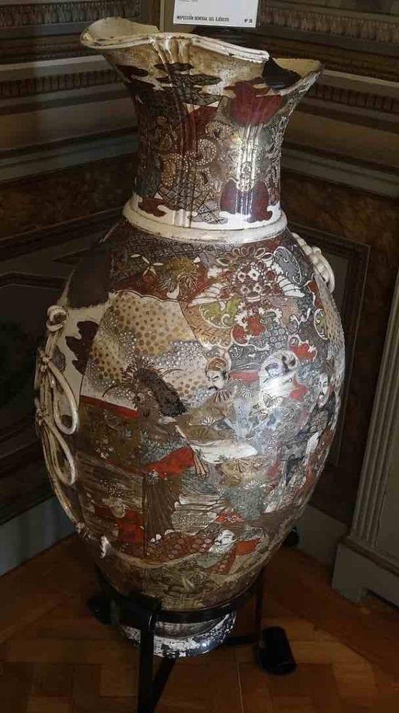 jarron chino antiguo caro