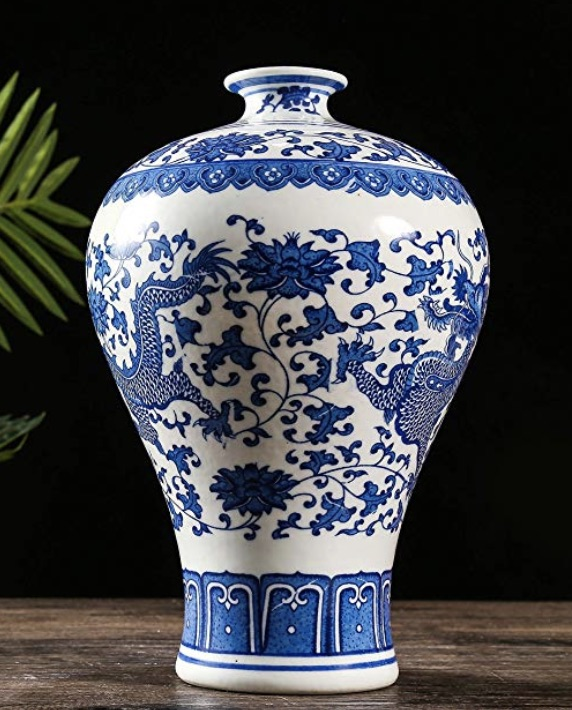 jarron de porcelana china